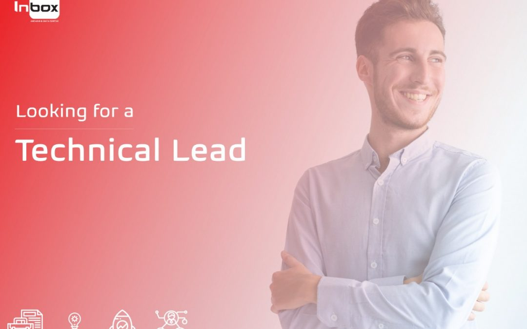 Are you our Technical Lead?